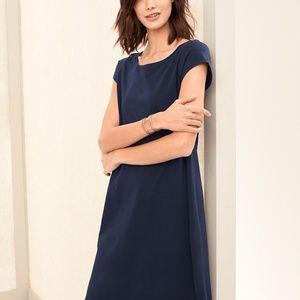 Eileen Fisher XL Organic-Cotton T-Shirt Dress